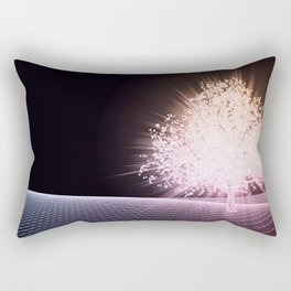 Futuristic Science Research as a Art Concept Rectangular Pillow