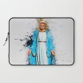 The Virgin Mary Laptop Sleeve