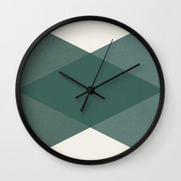 Simple geometrical pattern Wall Clock