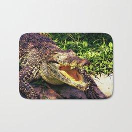 Awesome Crocodile Bath Mat