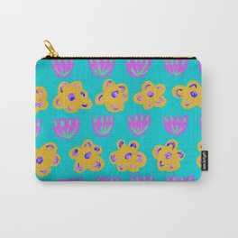 pattern with flowers Carry-All Pouch