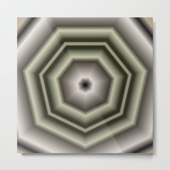 Polygon Auras in CMR 03 Metal Print