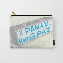 Latin American Bus Sign Collage Carry-All Pouch