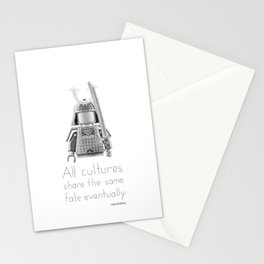 Japan - All Cultures Share the Same Fate Eventually Stationery Cards