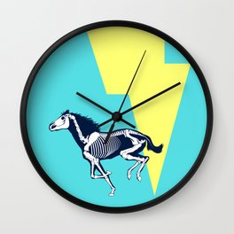 Electro Horse Wall Clock