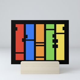 Stutter - Colorful Abstract Art Piece Mini Art Print