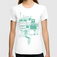 video games T-shirts featuring Video Games by Isra