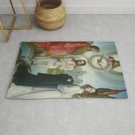 Juan de Flandes - The Baptism of Christ Rug