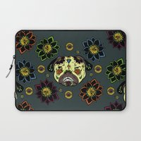 calavera Laptop Sleeves featuring Calavera Paxicana by Huebucket