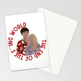 The ENd Of The F***ing World Stationery Cards
