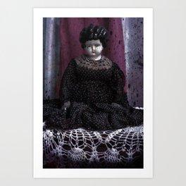 Bertha is evil! Art Print