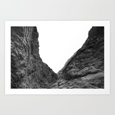 Valley of the Forsaken Art Print