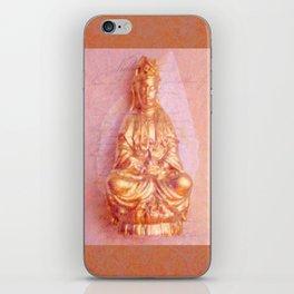 Rose-Bronze Kwan Yin iPhone Skin
