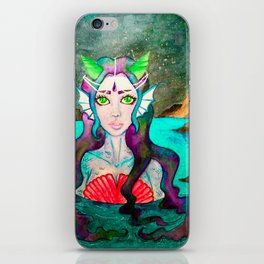 My Love The Mermaid iPhone Skin