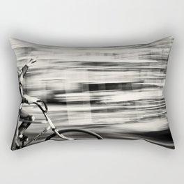 Boy of Freedom Street Photography BW Rectangular Pillow