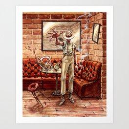 Hurry Home Art Print