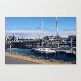 Let's Go Boating Canvas Print