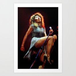 Ⓢ.в.乇.⑦⑧ Ⓜⓘⓛⓛⓨ - Tina Anna Mae Bullock Turner - Society6 Online Pop Icon - Shop Music Photography 67 Art Print