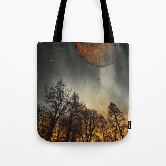 when the mOOn was young Tote Bag