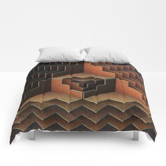 Geo Metric Comforters