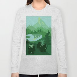Mountain Bears and Their Friends Long Sleeve T-shirt