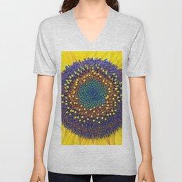 Summer Sunflower Unisex V-Neck