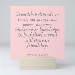 135 | Dalai Lama Quotes 190504 Mini Art Print