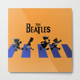 WHICH WAY TO ABBEY ROAD? Metal Print