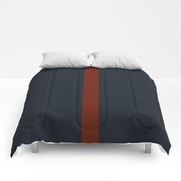 vermilion line Comforters