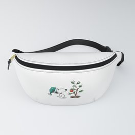 Christmas Snoopy Fanny Pack