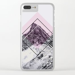 Geometric Composition 1 Clear iPhone Case