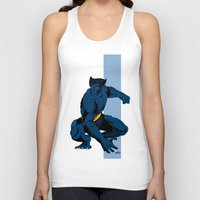 beast Tank Tops featuring Beast by Andrew Formosa