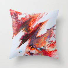 Agéris Throw Pillow