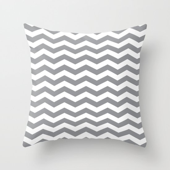 Grey Chevron Pattern by coolfunawesometime