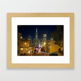 Montgomery by night Framed Art Print