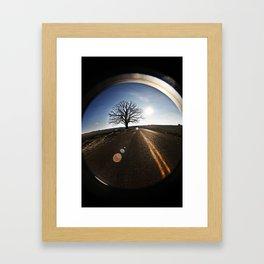 big burr oak Framed Art Print