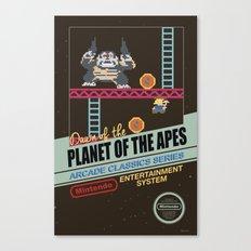 Ape not kill ape Canvas Print