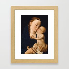 Virgin and Child by Dieric Bouts, 15th Century Framed Art Print