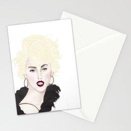 Fashion Illustration - Modern Marilyn  Stationery Cards