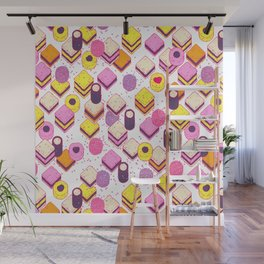 Licorice Allsorts with no type Wall Mural