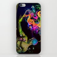 alchemy iPhone & iPod Skins featuring Alchemy Resonance by Archan Nair
