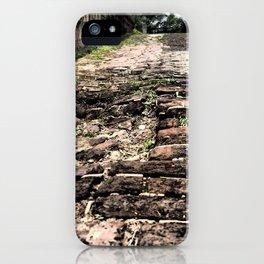 Broken Path iPhone Case