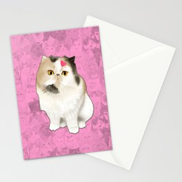Cherry_the_flat_face_princess Stationery Cards