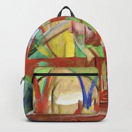"""Franz Marc """"Gazelles"""" Backpack"""