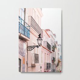 City Bird in Lisbon, Portugal - Wall Art Photo Print Metal Print