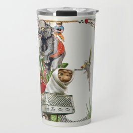 E - Collage Type Collection 2019 Travel Mug