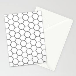 Honeycomb Black #378 Stationery Cards