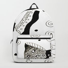 Bows and Swirls Backpack