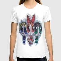 powerpuff girls T-shirts featuring powerpuff girls doodle/scribble by Patricia Pedroso