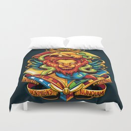 Harry Potter : Hogwarts Houses Duvet Cover